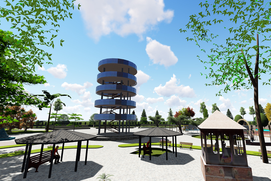 Development of Green Park of Jeetpur