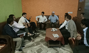 Discussion with social Leaders for the Construction of ICD at Chadani_Dodhara